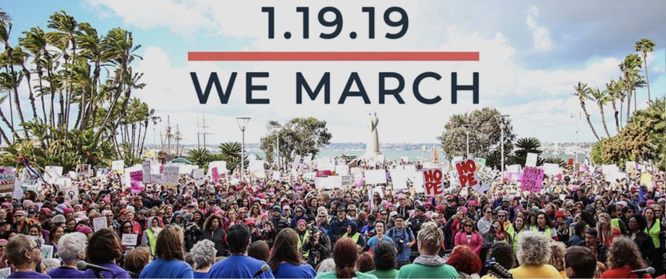 Women's March San Diego 2019