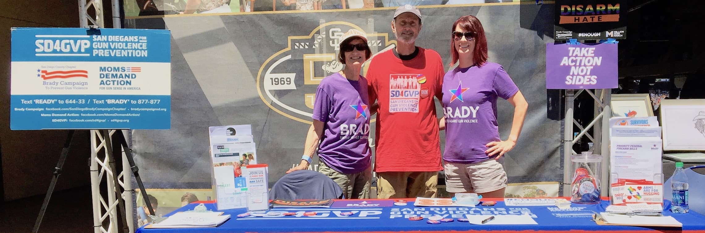 San Diegans for Gun Violence Prevention Padres v Red Sox Aug 2019