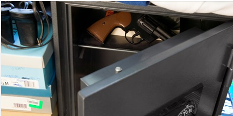 Safe storage of firearms