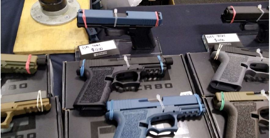 Ghost guns — No serial number means no background check